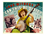 Can This Be Dixie, Far Left: Slim Summerville, 1936 Posters