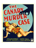 The Canary Murder Case, Louise Brooks on Window Card, 1929 Photo
