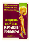 Blondie Johnson, Joan Blondell, 1933 Posters