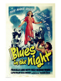 Blues in the Night, Jack Carson, Priscilla Lane, Peter Whitney, 1941 Plakater