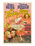Thin Ice, Sonja Henie, Tyrone Power, Arthur Treacher, Joan Davis, 1937 Posters
