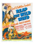 Reap the Wild Wind, 1942 Posters
