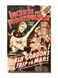 Flash Gordon's Trip to Mars, Larry 'Buster' Crabbe in 'Chapter 10: Incense of Forgetfulness', 1938 Posters