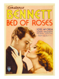 Bed of Roses, Joel Mccrea, Constance Bennett on Midget Window Card, 1933 Photo