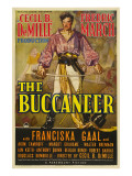 The Buccaneer, Fredric March, 1938 Posters