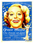 One Night of Love, Grace Moore, 1934 Posters