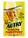 Tumbling Tumbleweeds, Gene Autry, 1935 Posters