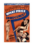 What Price Innocence, (Shall the Children Pay), 1933 Print