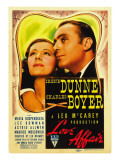 Love Affair, Irene Dunne, Charles Boyer, 1939 Affiche