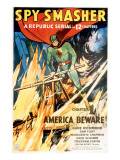 Spy Smasher, Kane Richmond in 'Chapter 1: America Beware', 1942 Print