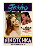 Ninotchka, Greta Garbo, Melvyn Douglas, 1939 Photographie