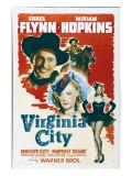Virginia City, Errol Flynn, Miriam Hopkins, 1940 Photo