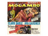 Mogambo, Grace Kelly, Clark Gable, Ava Gardner, 1953 Prints