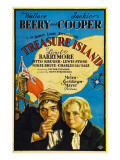 Treasure Island, Wallace Beery, Jackie Cooper, 1934 Photo