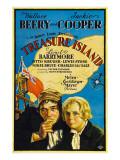 Treasure Island, Wallace Beery, Jackie Cooper, 1934 Prints