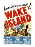 Wake Island, Foreground from Left: Macdonald Carey, Brian Donlevy, Robert Preston, 1942 Photo