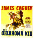 The Oklahoma Kid, James Cagney on Window Card, 1939 Prints