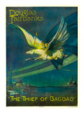 The Thief of Bagdad, Douglas Fairbanks on a Flying Horse, 1924 Prints