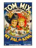 My Pal, the King, Tom Mix, Mickey Rooney, 1932 Photo