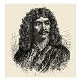 Jean-Baptiste Poquelin, also known by his stage name, Molière, was a French playwright and actor Reproduction procédé giclée