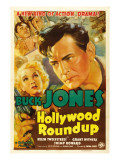 Hollywood Roundup, Helen Twelvetrees, Buck Jones, 1937 Print