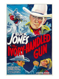 The Ivory-Handled Gun, Top and Bottom Left: Buck Jones, 1935 Photo