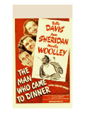 The Man Who Came to Dinner, Bette Davis, Ann Sheridan, Jimmy Durante, 1942 Photo