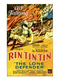 The Lone Defender, June Marlowe, Rin-Tin-Tin in 'Episode 2: the Fugitive', 1930 Affiches