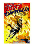 Red River Valley, Gene Autry, 1936 Poster