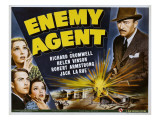 Enemy Agent, 1940 Pósters