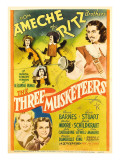 The Three Musketeers, the Ritz Brothers, Don Ameche, Gloria Stuart, Pauline Moore, 1939 Print