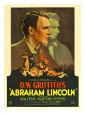 Abraham Lincoln, Walter Huston, 1930 Photo
