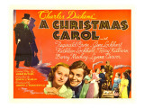 A Christmas Carol, Reginald Owen, Lynne Carver, 1938 Photo