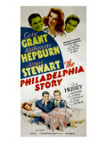 The Philadelphia Story, Cary Grant, Katharine Hepburn, James Stewart, 1940 Affiche