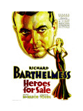 Heroes for Sale, Richard Barthelmess, Loretta Young, 1933 Affiches