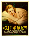 Next Time We Love, Margaret Sullavan on Window Card, 1936 Posters