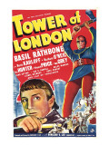 Tower of London, Basil Rathbone, Boris Karloff, 1939 Photographie