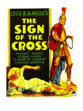 Sign of the Cross, Elissa Landi, Fredric March on Window Card, 1932 Prints