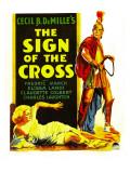 Sign of the Cross, Elissa Landi, Fredric March on Window Card, 1932 Prints
