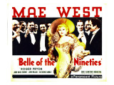 Belle of the Nineties, Mae West, Roger Pryor, 1934 Posters