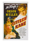Citizen Kane, Orson Welles, 1941 Poster