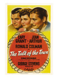 The Talk of the Town, Cary Grant, Jean Arthur, Ronald Colman, 1942 Photo
