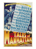 Tales from Manhattan, Rita Hayworth, Charles Boyer, 1942 Print