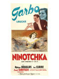Ninotchka, Melvyn Douglas, Greta Garbo, 1939 Photo