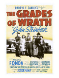 The Grapes of Wrath, John Carradine, Dorris Bowdon, Henry Fonda, 1940 Poster