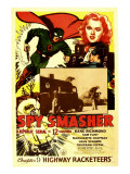 Spy Smasher, Kane Richmond, Marguerite Chapman in 'Chapter 9: Highway Racketeers', 1942 Prints