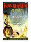 Frankenstein, Dwight Frye, John Boles, Mae Clarke, Boris Karloff, Edward Van Sloan, 1931 Posters