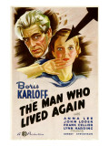 The Man Who Lived Again, Boris Karloff, Anna Lee, 1936 Prints