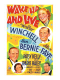 Wake Up and Live, Ben Bernie, Patsy Kelly, 1937 Photo