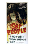 Cat People, Simone Simon, 1942, Cat Plakater